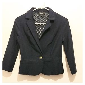 By & By Blazer career lace see through back medium